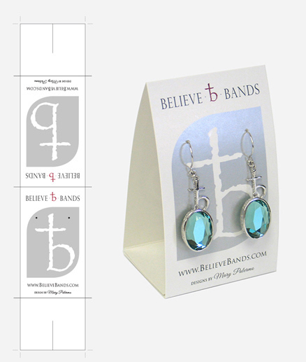 Believe Bands Earring Stand