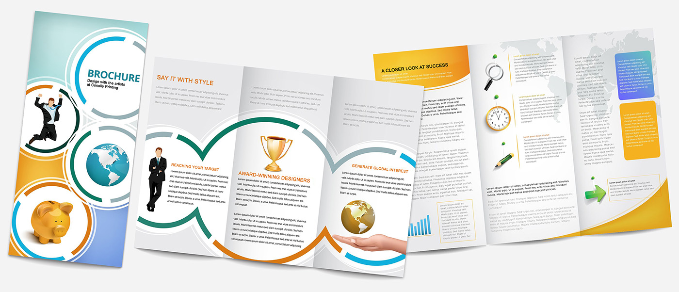 professional brochure design and printing services